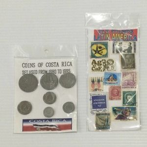 Old Stamps & Coins from Latin America